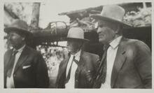 Charles M. Russell with Two Friends