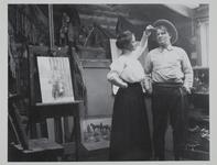Charles M. Russell with Ella Ironside