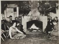 Group of People in Bull Head Lodge