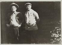 Charles M. Russell and Friend