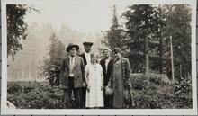 Charles M. Russell and Nancy C. Russell with Three Others