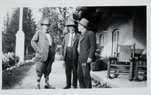 Charles M. Russell and Two Friends