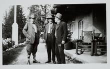 Charles M. Russell with Two Men