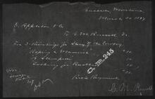 Copy of a Letter to Charles M. Russell