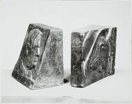 Two Sculptural Bookends