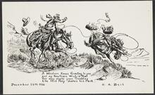 Christmas Card by Charles A. Beil