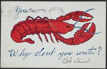 Lobster Postcard