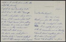 Letter from George Sack to Charles M. Russell and Nancy C. Russell