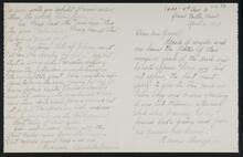 Letter from Elizabeth Sprague to Nancy C. Russell