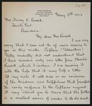 Letter from James Pearson to Nancy C. Russell