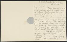 Letter from Lucille and Ed Borein to Nancy C. Russell