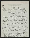 Letter from Marguerite C. to Nancy C. Russell