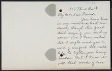 Letter from Eleanor L. Eliot to Nancy C. Russell