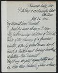 Letter from Charlotte P. de Gatilteri to Nancy C. Russell