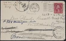 Letter from Turbese L. Fiske to Nancy C. Russell