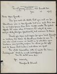 Letter from Douglas H. Stewart to Nancy C. Russell