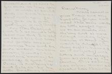 Letter from Albertine Raban to Nancy C. Russell