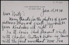 From James Rankin to Homer E. Britzman
