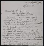 From Ethel E. Wills to Homer E. Britzman