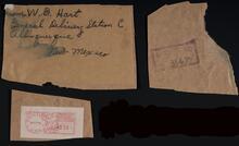 W. D. Hart's Mailing Address
