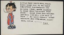 Illustrated message from Lev