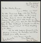 Letter from Irvin S. Cobb to Charles M. Russell