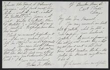 Letter from Grace M. Peters to Nancy C. Russell