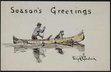 Christmas card from Philip R. Goodwin