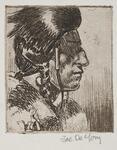 Indian portrait by Joe de Yong