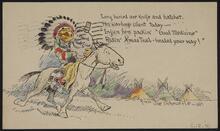 Postcard from Joe Scheuerle to Nancy C. Russell
