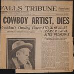 Cowboy Artist, Dies