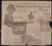 """Romantic Secrets of """"Cowboy"""" Russell, Millionaire Painter"""