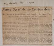 Round Up of Art by Cowboy Artist