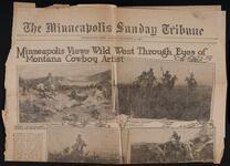 Minneapolis Views Wild West Through Eyes of Montana Cowboy Artist