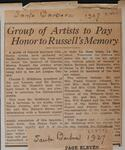 Group of Artists to Pay Honor to Russell's Memory