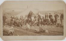Charles M. Russell with Large Group