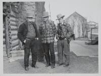 Charles M. Russell and Two Men
