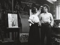 Charles M. Russell and Ella Ironside