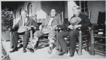 Charles M. Russell with Irvin S. Cobb and John E. Lewis