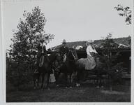 Charles M. Russell and Friends on Horses