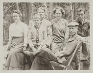 Charles M. Russell and Jack with Family