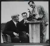 Charles M. Russell, William S. Hart, and Will James
