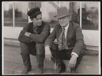 Charles M. Russell and Will Rogers