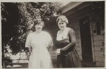 Nancy C. Russell and Friend