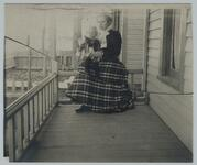 Nancy C. Russell and Young Child