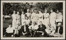 Nancy C. Russell and Group of People