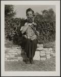 Helen Britzman with Dog