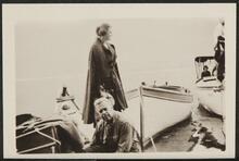 Couple Near Boats