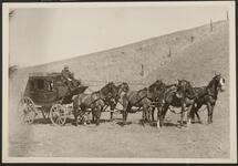 Man with Stagecoach