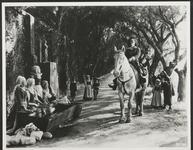 Douglas Fairbanks on Horse